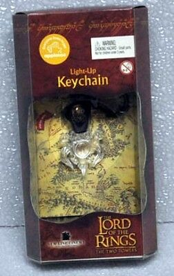 Lord Of The Rings Two Towers Light Up Keychain Sauron