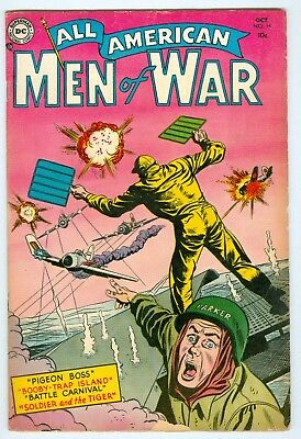 All American Men of War #14 G/VG October 1954