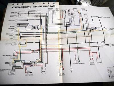 Yamaha Xt250 Wiring Diagram - Wiring Diagram Database on