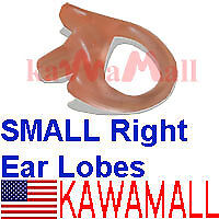 Right Small Ear Piece Mold Lobe For Acoustic Coil Tube