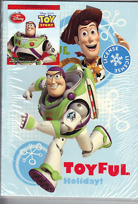 Disney toy story cards (6 Cards) new