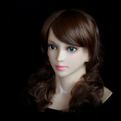Silicone Rubber Female Mask - Latex Girl Disguise