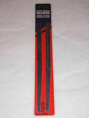 Spear & Jackson Eclipse Wood Cutting Padsaw Blades Twin