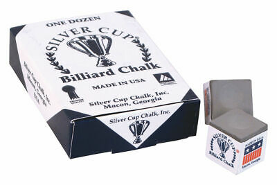 PEWTER, Grey 12 Box Pool/Snooker/Billiard Tables SILVER CUP Cues Tips Chalks
