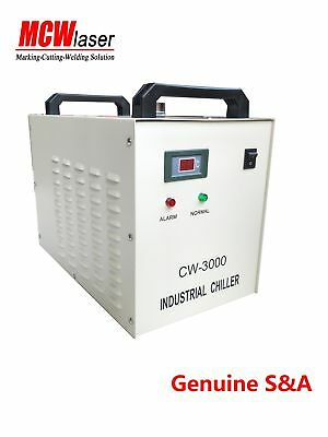 Industrial Water Chiller Cool 40W 50W 60W 80W CO2 laser tube Engraver CW-3000AG