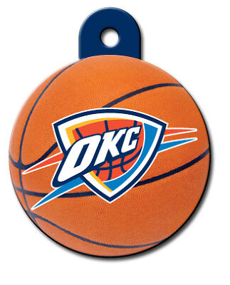 Officially Licensed NBA Oklahoma City Thunder Pet Tag