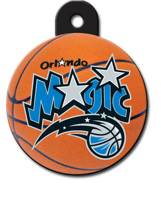 Officially Licensed NBA Orlando Magic Round Pet Tag