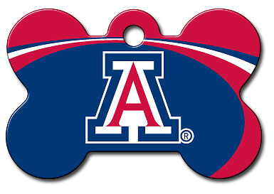 Officially Licensed NCAA Arizona Wildcats Pet Tag