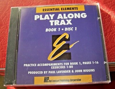 Essential Elements Play Along Trax - CD - Bk. 1, Disc 1