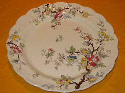 "BOOTHS/BOOTH CHINESE TREE  PLATES dia 9.75""   (0.5/60C)"
