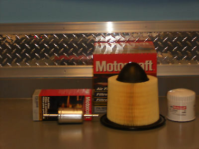 Oil, Fuel & Air Filter Kit 2004-2007 Ford F-150 - Brand New!