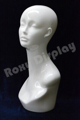 Female Mannequin Head Bust Wig Hat Jewelry Display #MD-TinaW