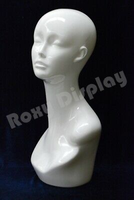 Female Mannequin Head Bust Wig Hat Jewelry Display #TinaW