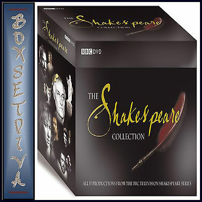 Shakespeare - The Bbc Tv Complete Collection - **Brand New Dvd Boxset**