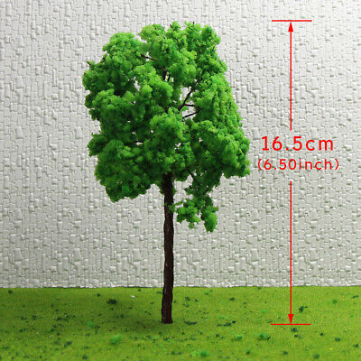 G16090 8pcs Scale Train Layout Set Model Trees G O 16cm