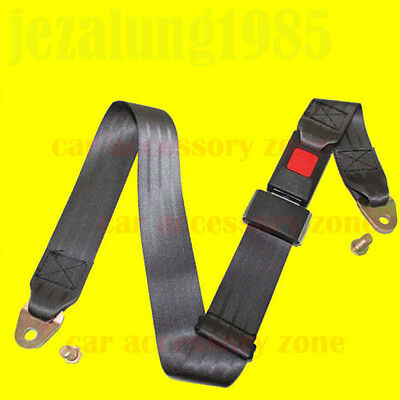 New Adjustable  Two Point Car Seat Lap Belt Universal