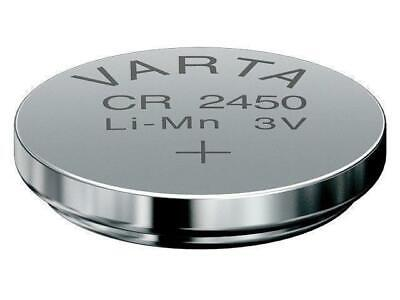 4 x VARTA CR2450 Lithium Markenbatterien CR 2450 NEU ø24x5,0mm