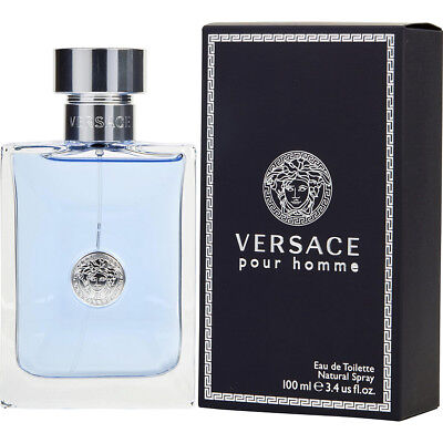 VERSACE POUR HOMME 100ml EDT SPRAY FOR MEN BY VERSACE -------------- NEW PERFUME