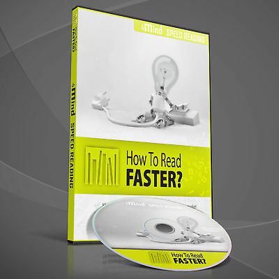4mind Speed Reading - Speed Reading PC Software CD