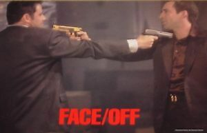 FACE/OFF - Face Off - 11x14 US Lobby Cards Set John Woo