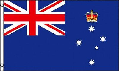3'x5' VICTORIA FLAG OUTDOOR BANNER AUSTRALIA PROVINCE STATE PENNANT HUGE NEW 3X5