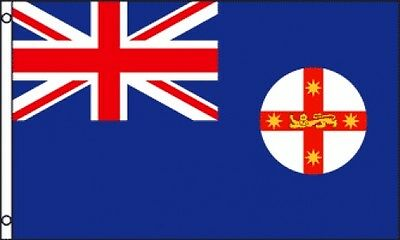 3'x5' NEW SOUTH WALES FLAG OUTDOOR BANNER AUSTRALIA 3X5