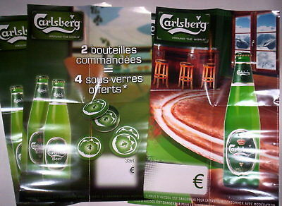 Lot Affiches Promo Special Carlsberg