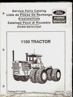 NEW HOLLAND / Ford 1150 Tractor Parts Manual