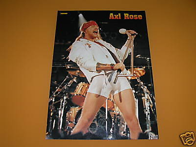 AXL ROSE & ARMY OF LOVERS - 1990s - MAGAZINE POSTER