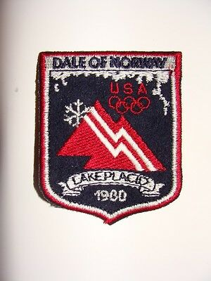 Dale Of Norway Usa Olympic Patch Lake Placid 1980 Nip