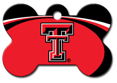 Officially Licensed NCAA Texas Tech Raiders Pet Tag