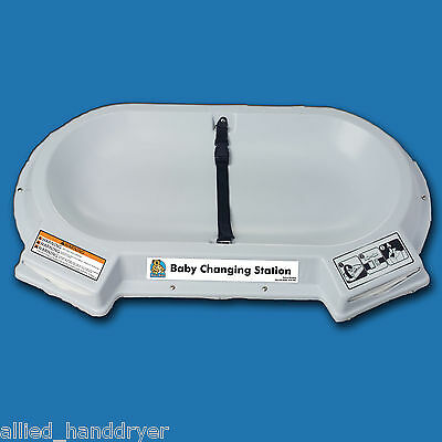 KOALA KARE KB112-01CT CounterTop Laybed Baby Changing Station (Surface Mount)