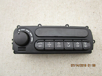 98 - 04 Dodge Intrepid Chrysler 300M A/c Heater Climate Temperature Control Oem