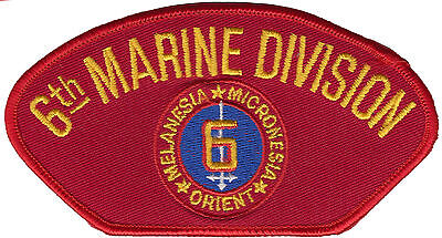 6th Marine Division Iron On Patch