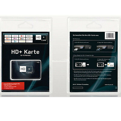 HD+ Karte HDTV Smartcard 12 Monate Laufzeit HD plus