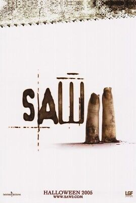 SAW II MOVIE POSTER Double Sided ORIGINAL Advance 27x40