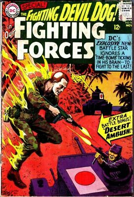 OUR FIGHTING FORCES #96 Very Good, DC War Comics 1965