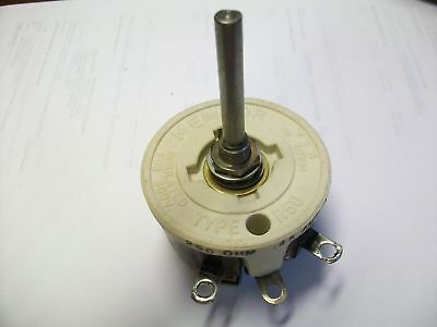 "Memcor 250 Ohm  50  Watt Rheostat  1 3/4""  Shaft"