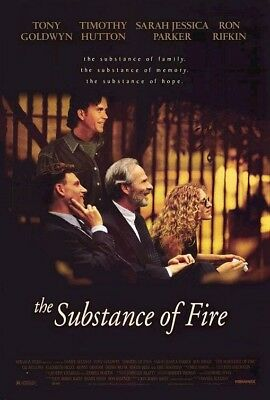 THE SUBSTANCE OF FIRE MOVIE POSTER SS ORIGINAL 27x40