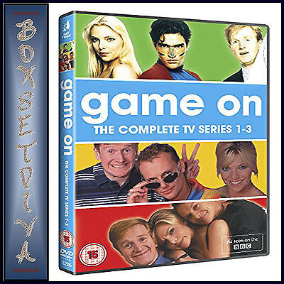 Game On - The Complete Series 1 2 & 3 *Brand New Dvd Boxset***