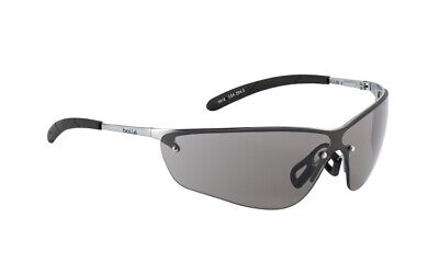 Bolle Silium Safety Glasses - Smoke UV Lens - Anti Mist - SILPSF Metal Frame