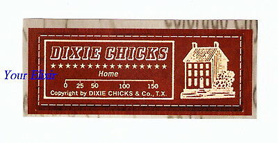DIXIE CHICKS Home House Red Patchlike Case Sticker