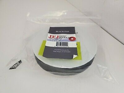 2  Genuine JFJ Black Sanding pad for Double Arm Machine