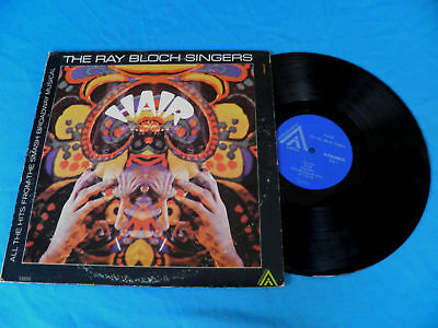 Ray Bloch HAIR Hits EX Hammond Groove Funk LP / Listen