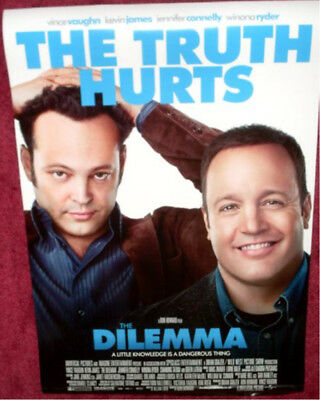 Cinema Poster: DILEMMA, THE 2011 (One Sheet) Vince Vaughn