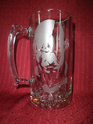 God of War Etched Beer Stein -ps3-ps2-psp