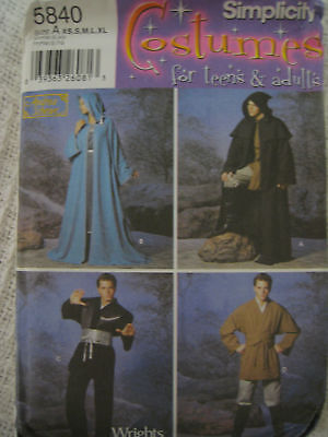 Simplicity Andrea Schewe Medieval Tunic Costume Pattern