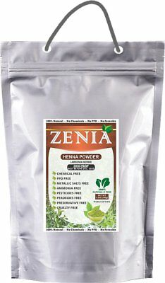 2017 Crop Zenia Pure Henna Mehandi Powder Body Art Quality 5000g / 5KG