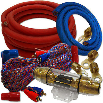 Dietz Set 35qmm KABEL-SET CAR-HIFI AUTO KABEL-SATZ