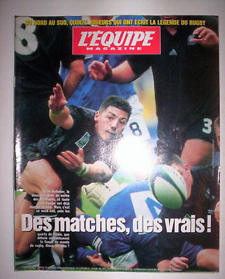 L'equipe Mag 23 Oct 1999 Special Coupe Du Monde Rugby / All Blacks Kelleher